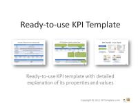 KPI Template Readytouse Key Performance Indicators KPIs Template - Kpi template